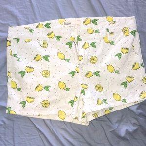 Bebop shorts NWOT